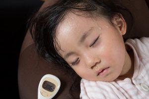 幼児の高熱